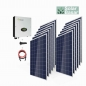 Preview: 3300 Watt Poly Solar-Basar PV-Anlage